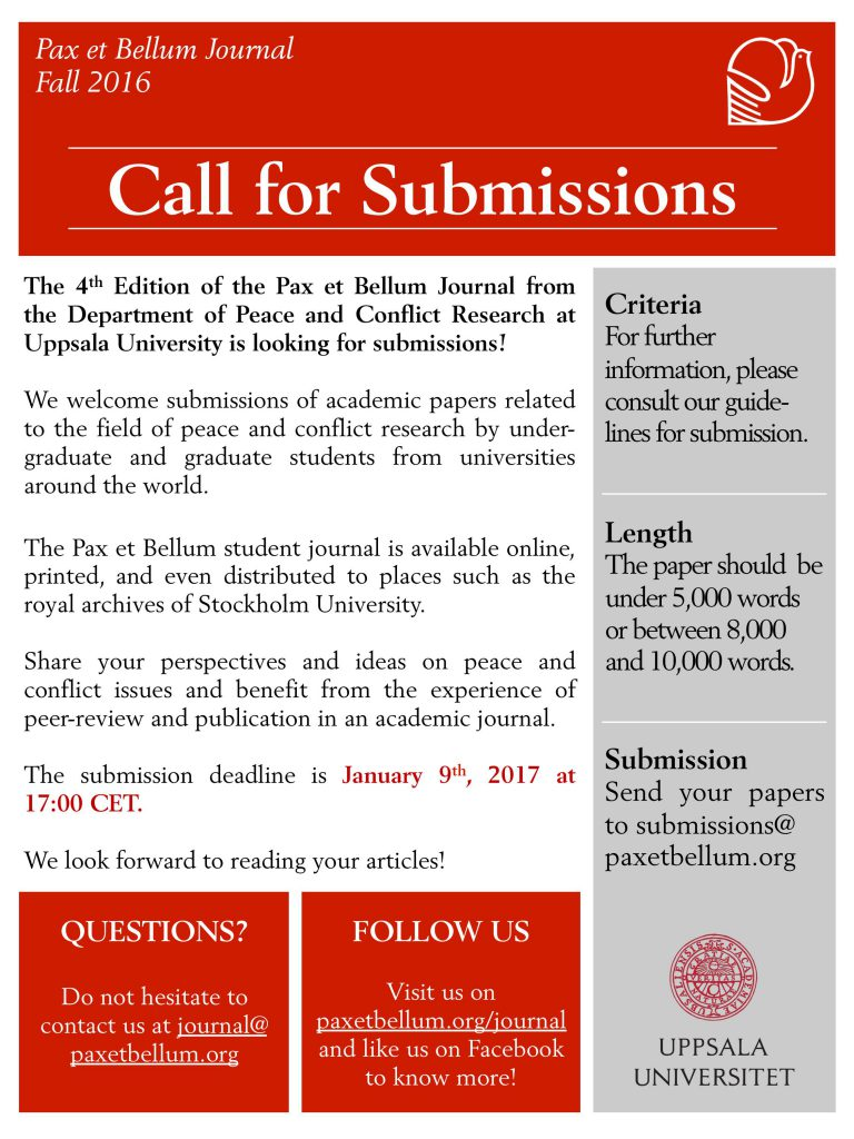 pax-et-bellum-journal-call-for-submissions